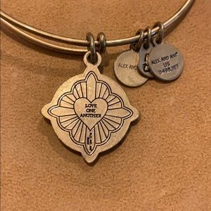 """Alex and Ani Jewelry - Alex and Ani Jesus Christ """"Love One Another"""""""